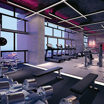 Devon Offices - Sky Gym