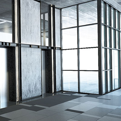 Retail Lots - Commercial Lift Lobby