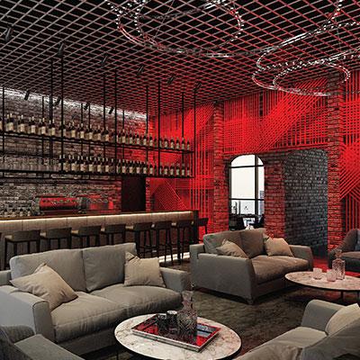 Retail Cafe Lounge